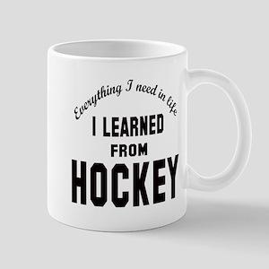 I learned from Hockey Mug