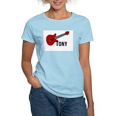 Guitar - Tony Women's Light T-Shirt