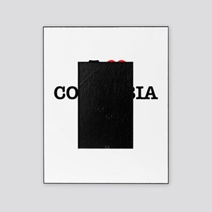 I Love COLOMBIA Picture Frame