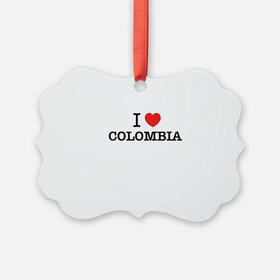 I Love COLOMBIA Ornament