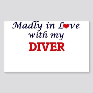 Madly in love with my Diver Sticker