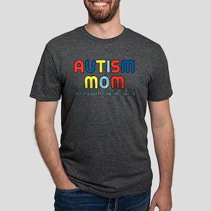 Autism Mom Mens Tri-blend T-Shirt
