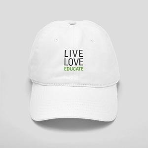 Live Love Educate Cap