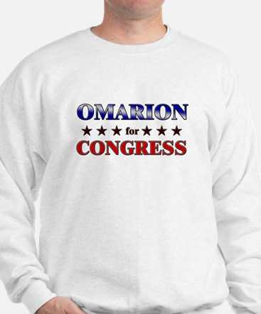 OMARION for congress Sweatshirt