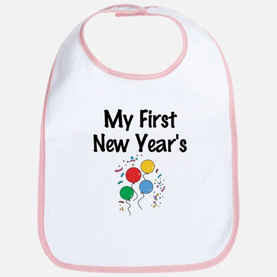 My First New Year's Bib