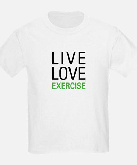 Live Love Exercise T-Shirt