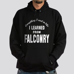 I learned from Falconry Hoodie (dark)