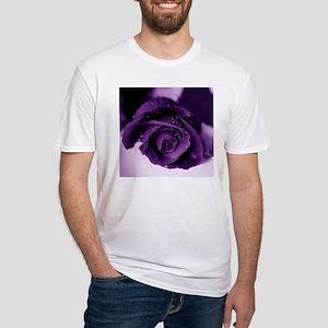 Purple Rose Ash Grey T-Shirt