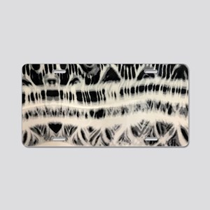 bohemian tribal tie dye Aluminum License Plate