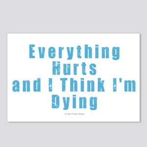 Everything Hurts Postcards (Package of 8)