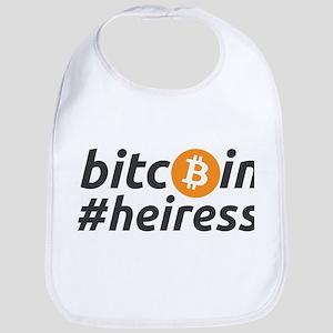 bitcoin heiress Baby Bib