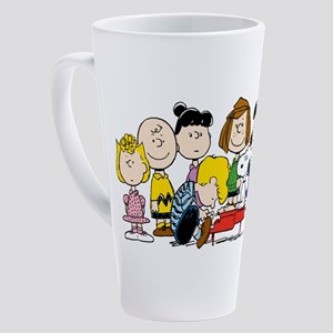 Peanuts Gang Music 17 oz Latte Mug