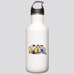 Peanuts Gang Music Water Bottle