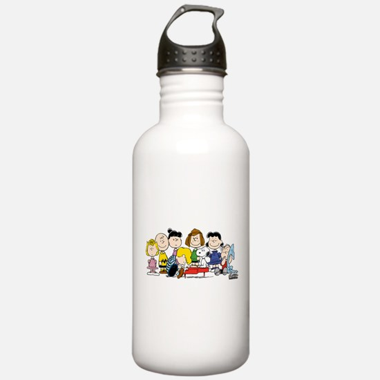 Peanuts Gang Music Water Bottle