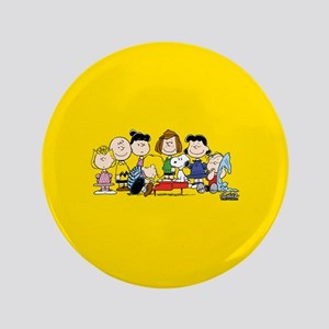 "Peanuts Gang Music 3.5"" Button"