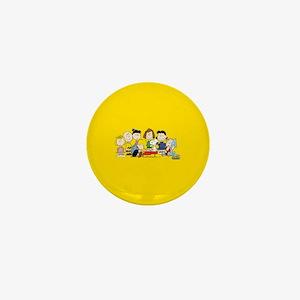 Peanuts Gang Music Mini Button