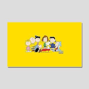 Peanuts Gang Music Car Magnet 20 x 12