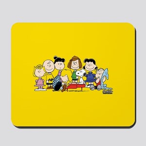 Peanuts Gang Music Mousepad