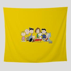 Peanuts Gang Music Wall Tapestry