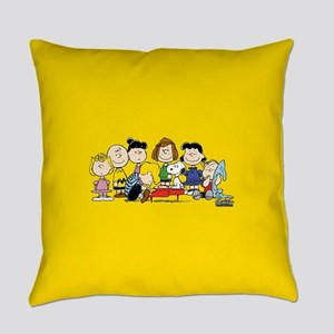 Peanuts Gang Music Everyday Pillow