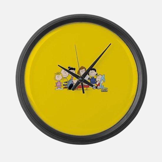 Peanuts Gang Music Large Wall Clock