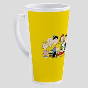 Peanuts Gang Music 17 oz Latte Mug