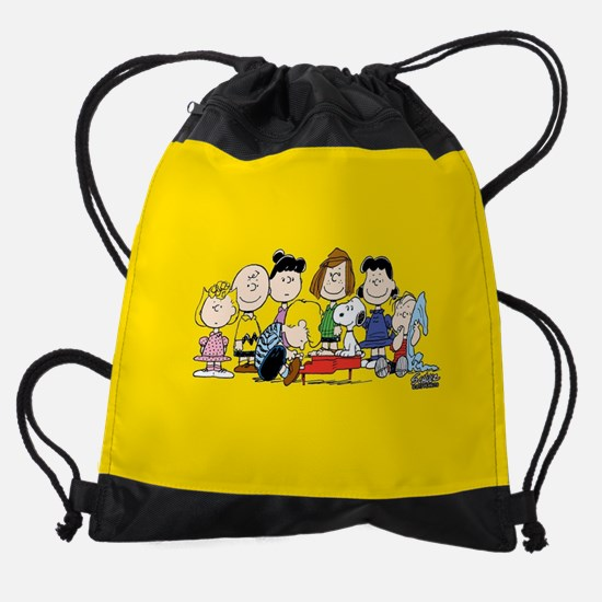 Peanuts Gang Music Drawstring Bag