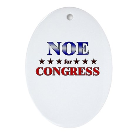 NOE for congress Oval Ornament