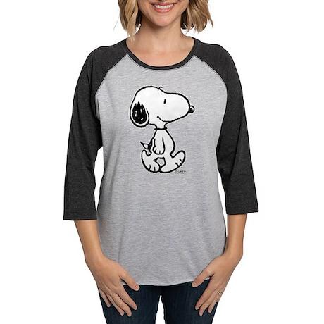 186676333 CafePress Peanuts Snoopy Long Sleeve T Shirt Womens Baseball Tee