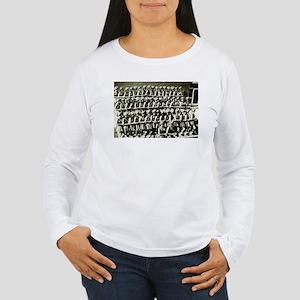 Drill Team 63 Women's Long Sleeve T-Shirt