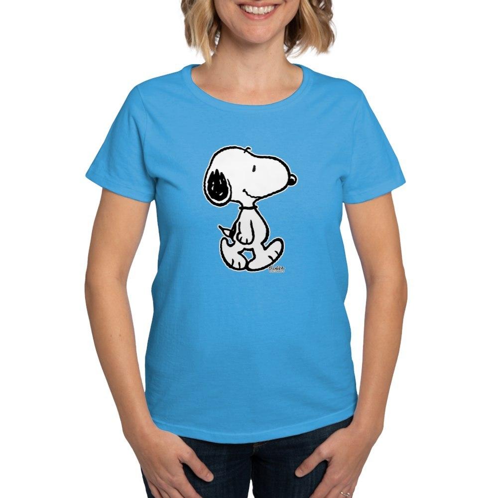 CafePress-Peanuts-Snoopy-T-Shirt-Women-039-s-Cotton-T-Shirt-186672854 thumbnail 44