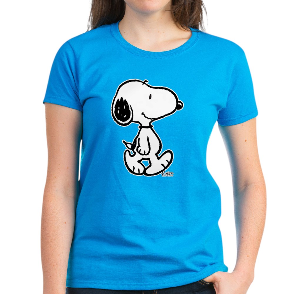 CafePress-Peanuts-Snoopy-T-Shirt-Women-039-s-Cotton-T-Shirt-186672854 thumbnail 46