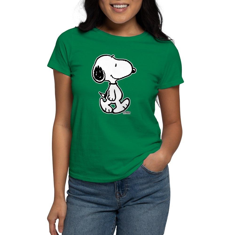 CafePress-Peanuts-Snoopy-T-Shirt-Women-039-s-Cotton-T-Shirt-186672854 thumbnail 68