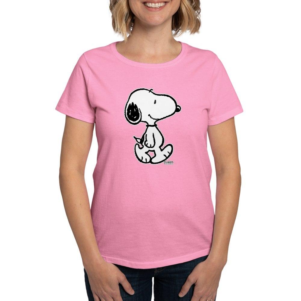 CafePress-Peanuts-Snoopy-T-Shirt-Women-039-s-Cotton-T-Shirt-186672854 thumbnail 26