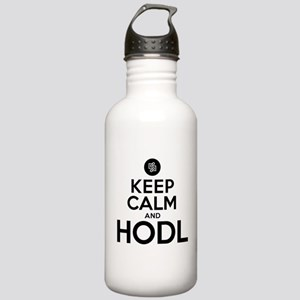 Keep Calm and Hodl Hum Stainless Water Bottle 1.0L