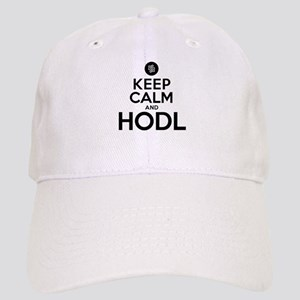 Keep Calm and Hodl Humor Cap