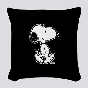 Peanuts Snoopy Woven Throw Pillow