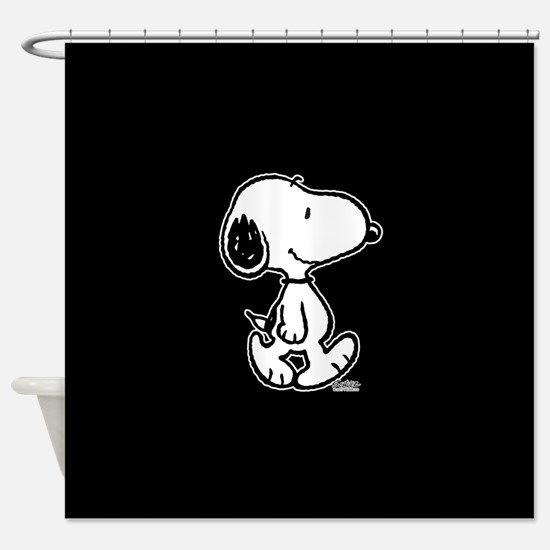 Peanuts Snoopy Shower Curtain