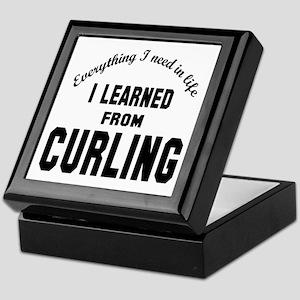 I learned from Curling Keepsake Box