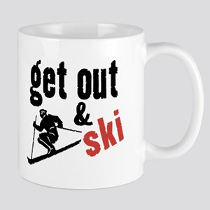 Get Out & Ski Mug