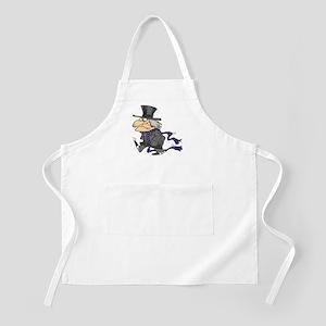 Scrooge BBQ Apron
