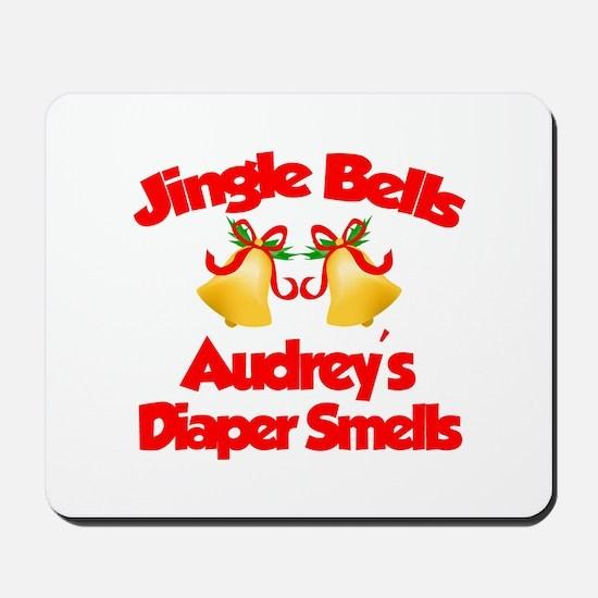 Audrey - Jingle Bells Mousepad