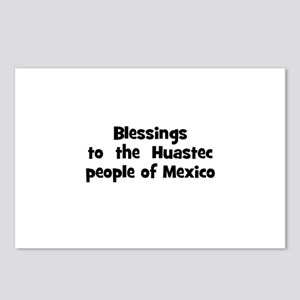 Blessings  to  the  Huastec p Postcards (Package o