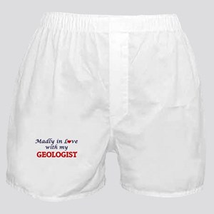 Madly in love with my Geologist Boxer Shorts