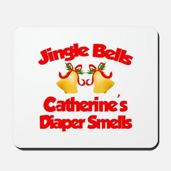 Catherine - Jingle Bells Mousepad