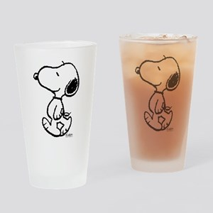 Peanuts Snoopy Drinking Glass
