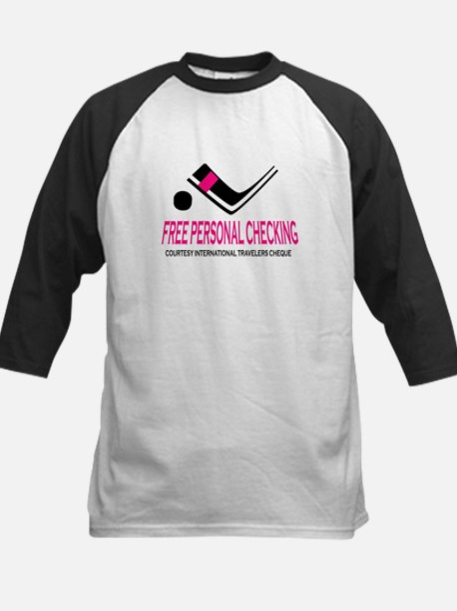 Free Checking Kids Baseball Jersey