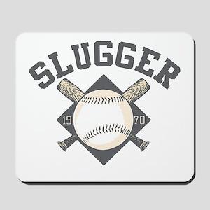 Baseball Slugger Mousepad