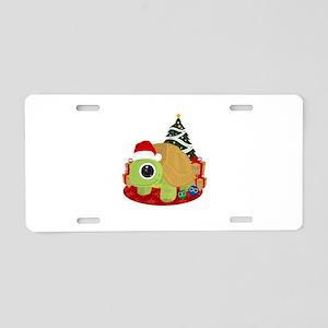Christmas - Turtle Aluminum License Plate