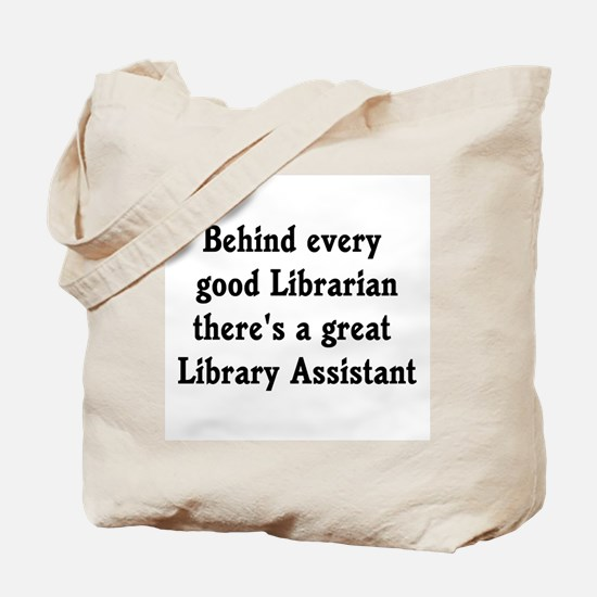 Library Assistant Tote Bag